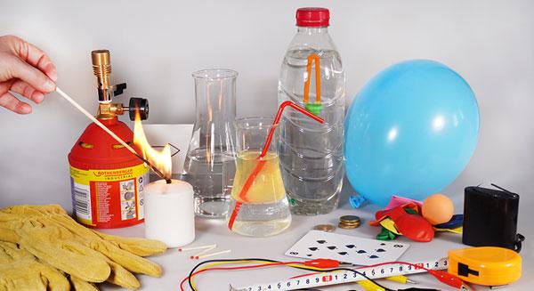 Physikexperimente von zu Hause durchführen